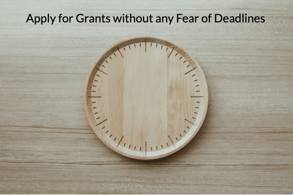 Apply for these Grants Anytime