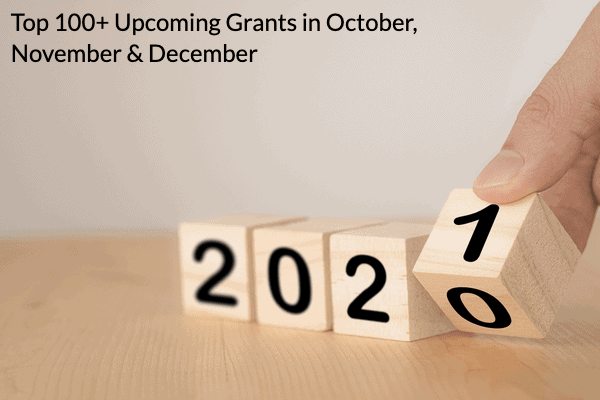 Get New Grants before the end of 2020