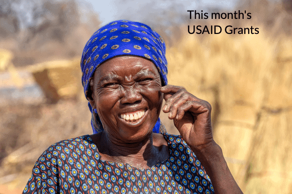 Which USAID Grants can you apply this month?